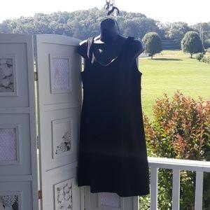 NWT $35 NY&C BLACK 100% Cotton Sheath Dress